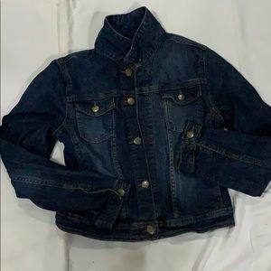 EUC Gap kids girls denim jacket size XL 12 years